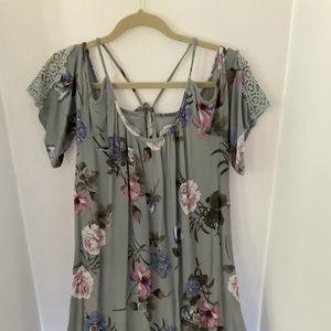Millibon USA size Large floral print dress